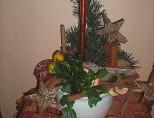 vanocni dekorace v keramice